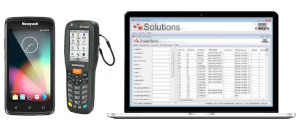 Inventur Einzelhandel Software Hardware Softwarelösung COSYS mobile Datenerfassung Barcode Scan